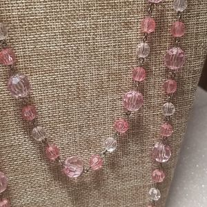 Vintage Jewelry - 2 Vintage Beaded Long Necklaces